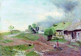 Vor dem Sturm | Isaac Levitan | veraltet