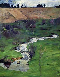 Stream, 1899 by Isaac Levitan | Painting Reproduction