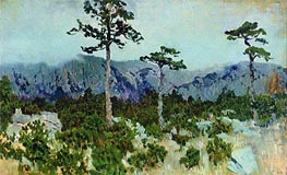 Three Pines, 1886 by Isaac Levitan | Painting Reproduction