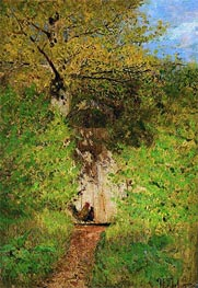 Footpath, 1880 by Isaac Levitan | Painting Reproduction