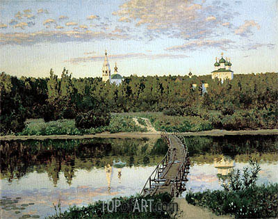 The Quiet Abode, 1890 | Isaac Levitan| Painting Reproduction