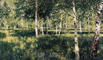 Isaac Levitan | Birch Grove, 1889