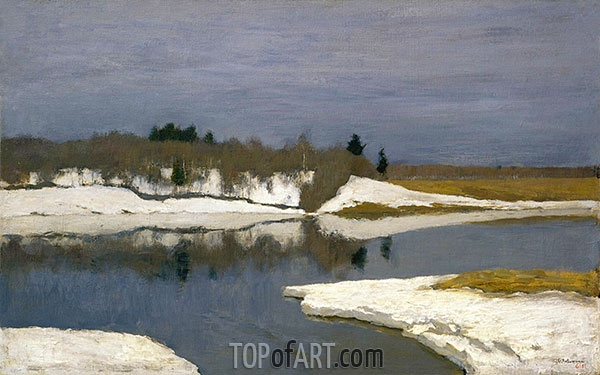 Early Spring, c.1898/99 | Isaac Levitan| Painting Reproduction