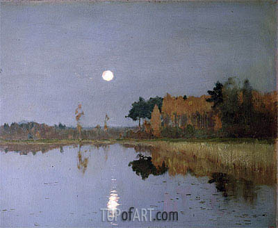 Isaac Levitan | The Twilight Moon, 1899