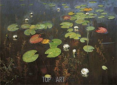 Isaac Levitan | Water Lilies, 1895