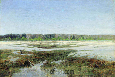 Early Spring,  | Isaac Levitan| Gemälde Reproduktion