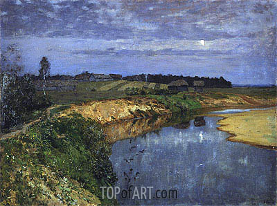 Silence, 1898 | Isaac Levitan | Painting Reproduction