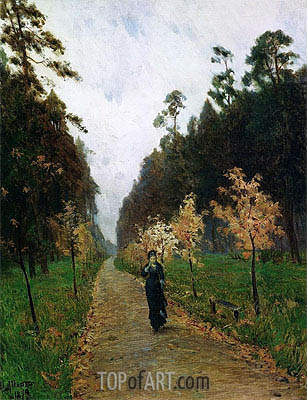 Autumn Day. Sokolniki, 1879 | Isaac Levitan| Painting Reproduction