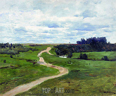 Road, 1898 | Isaac Levitan | Painting Reproduction
