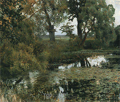 Isaac Levitan | Overgrowned Pond, 1887