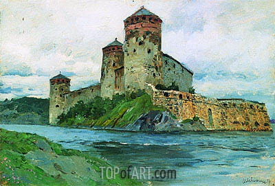 Fortress. Finland, 1896 | Isaac Levitan | Painting Reproduction