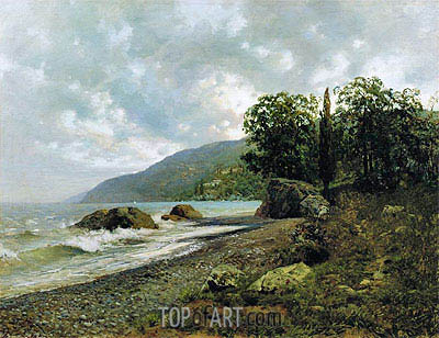 Crimean Landscape, 1887 | Isaac Levitan | Painting Reproduction