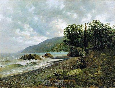 Isaac Levitan | Crimean Landscape, 1887