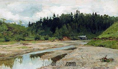 Isaac Levitan | Wood Small River, c.1886/87