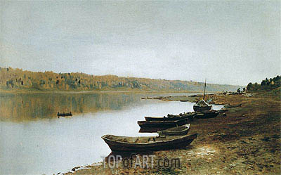 On Volga, c.1887/88 | Isaac Levitan | Painting Reproduction