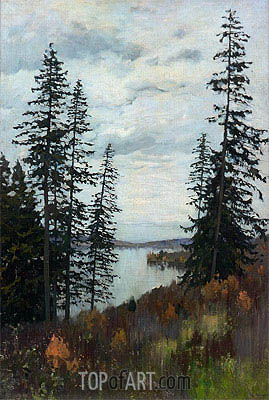 On the North, 1896 | Isaac Levitan| Painting Reproduction