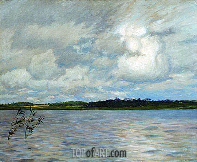 Lake. Grey Day, 1895 | Isaac Levitan | Painting Reproduction