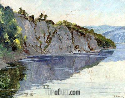 Isaac Levitan | A Crimean Landscape,