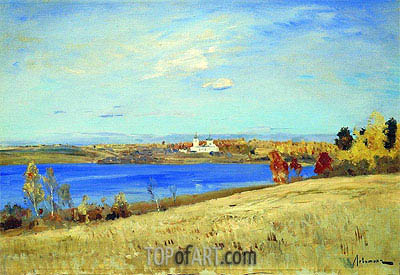 Autumn. River, c.1898/99 | Isaac Levitan | Painting Reproduction
