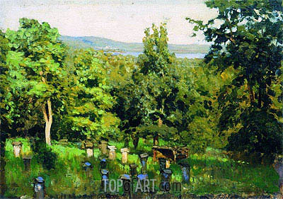 Apiary, 1887 | Isaac Levitan| Painting Reproduction