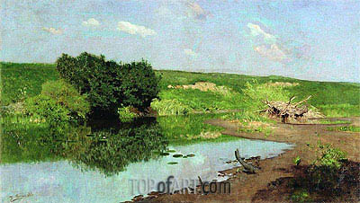 Landscape, 1883 | Isaac Levitan | Painting Reproduction