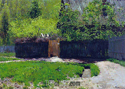 The First Greens. May, c.1883/88 | Isaac Levitan | Painting Reproduction