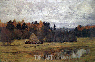 Late Autumn, c.1894/98 | Isaac Levitan | Painting Reproduction