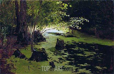 Isaac Levitan | Pond,