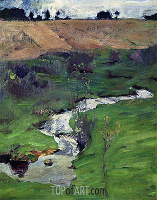 Stream, 1899 | Isaac Levitan | Painting Reproduction