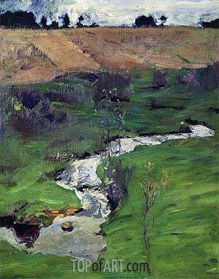 Isaac Levitan | Stream, 1899