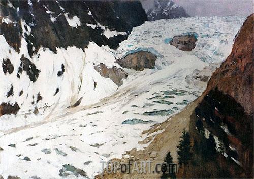 Isaac Levitan | Alps. Snow, 1897