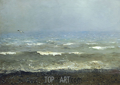 Isaac Levitan | Coast of Mediterranean Sea, 1890