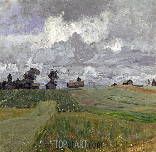 Isaac Levitan | Stormy Day, 1897