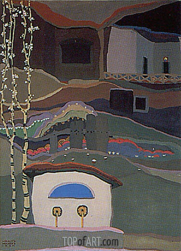 The Maglizh Monastery II, 1925 | Ivan Milev | Painting Reproduction