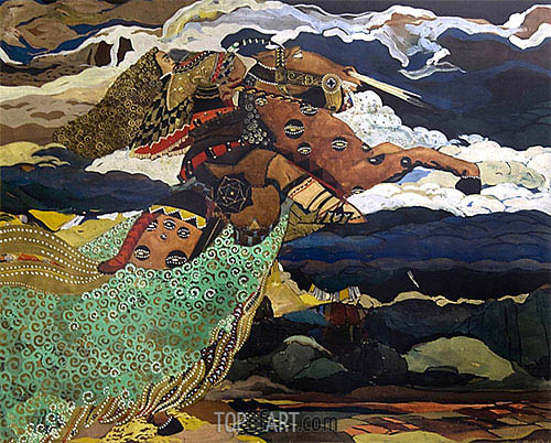 Krali Marko, 1926 | Ivan Milev | Painting Reproduction