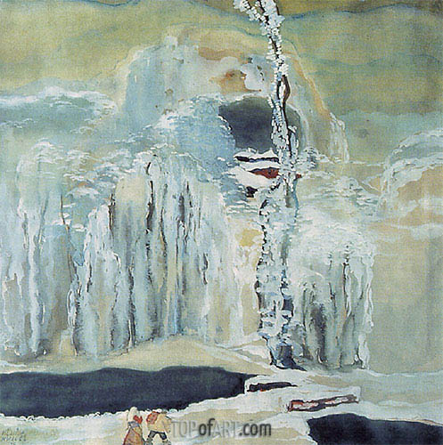 Winter Wonderland, 1926 | Ivan Milev | Painting Reproduction