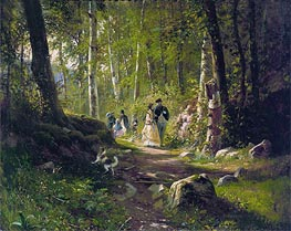 A Walk in the Forest | Ivan Shishkin | veraltet