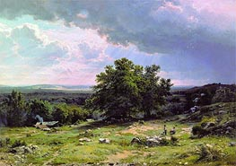 View in the Vicinity of Dusseldorf | Ivan Shishkin | veraltet