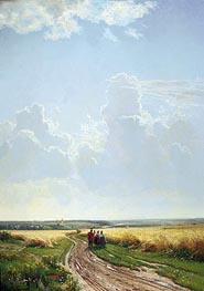 Noon in the Neighbourhood of Moscow | Ivan Shishkin | veraltet
