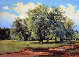 Willows Lit Up by the Sun | Ivan Shishkin | veraltet