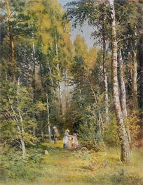 Birch Grove | Ivan Shishkin | Painting Reproduction