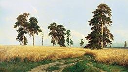 Rye | Ivan Shishkin | Gemälde Reproduktion