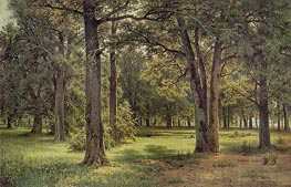 Peter The Great's Oak Grove in Sestroretsk | Ivan Shishkin | outdated
