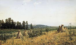 Polesye Landscape | Ivan Shishkin | Painting Reproduction