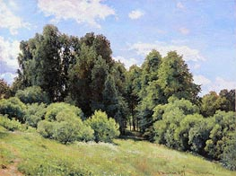 The Glade, 1897 by Ivan Shishkin | Painting Reproduction