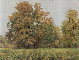 Autumn, 1892 by Ivan Shishkin | Painting Reproduction