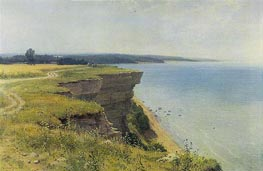On the Shore of the Gulf of Finland, 1889 by Ivan Shishkin | Painting Reproduction