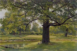 Oak Trees in Old Peterhof | Ivan Shishkin | veraltet