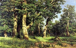 Oak Grove, 1887 by Ivan Shishkin | Painting Reproduction