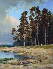 The Forest, 1885 by Ivan Shishkin | Painting Reproduction